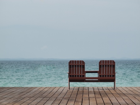 Beach resort photo