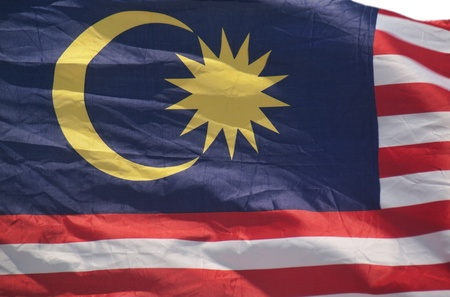 Malaysian flag Stock Photo - 10594429