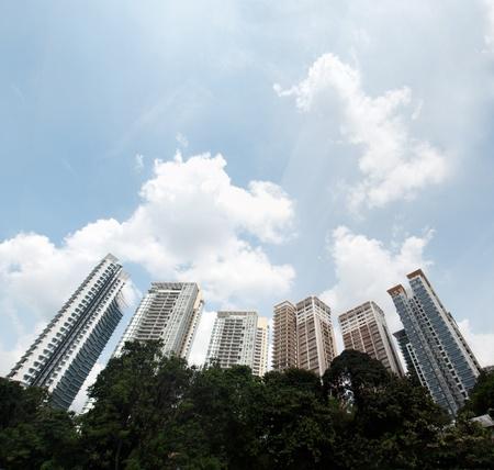 High rise luxurious condominium