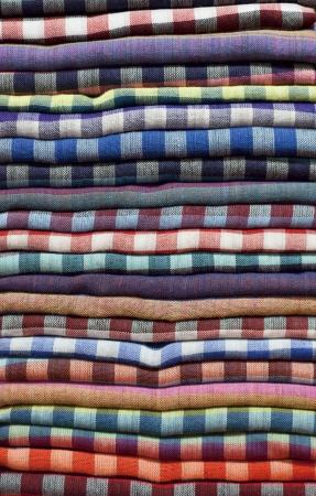Towels pile photo