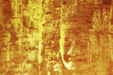 Faces of Bayon photo