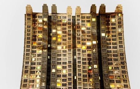 Strange building Stock Photo - 13843804