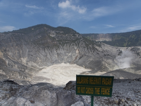 Volcano in Indonesia photo