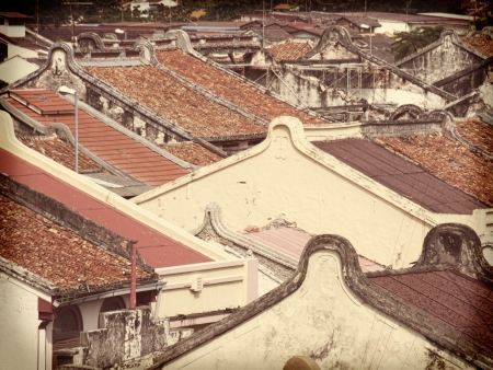 Malacca  rooftops photo