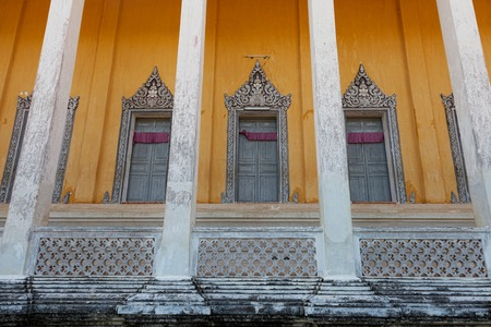 pagoda architecture in siem reap cambodia Stock Photo