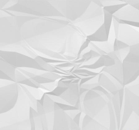 Wrinkled White Paper Stock fotó