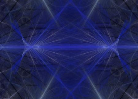 Blue Diamond Shell Wallpaper Stock fotó