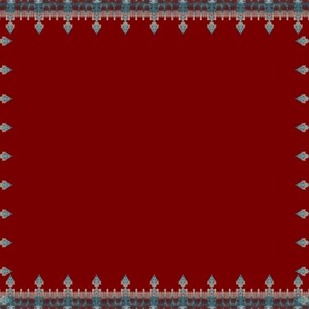 Spear Border Red