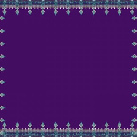 Spear Border Violet