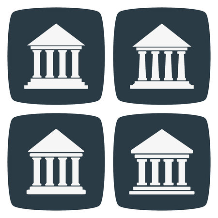 classical theater: Bank University Museum Icons