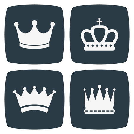 crown: Crown Icons Illustration