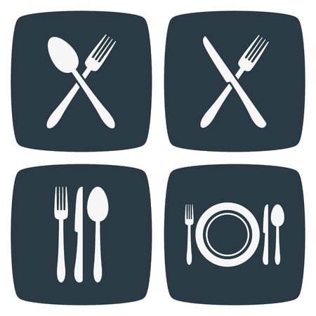 dining set: Cutlery Restaurant Icons