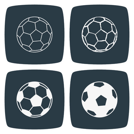 footie: Football Soccer Ball Icon Illustration