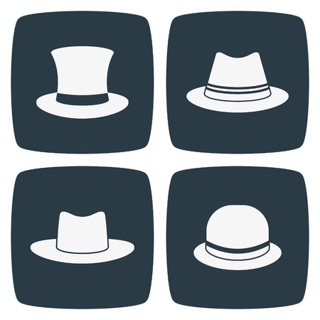 woman wearing hat: Hat Icons