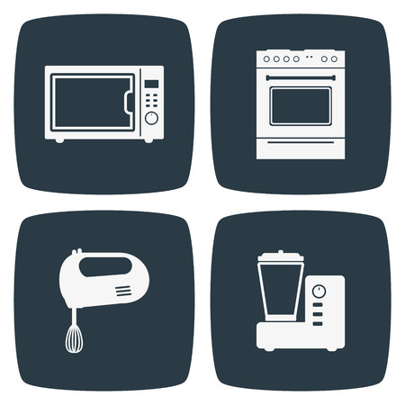 kitchen appliances: Kitchen Appliances Icons