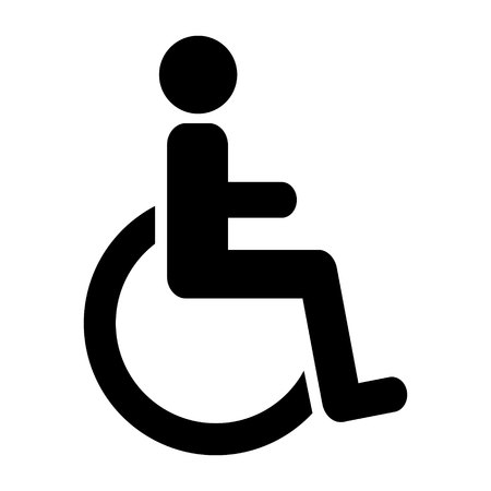 disabled parking sign: Disabled Handicap Icon