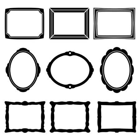 óvalo: Iconos Frame