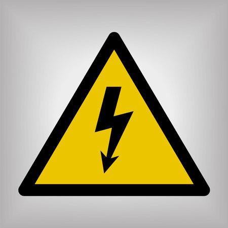 High Voltage Sign Vectores