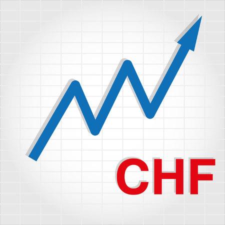 increase: Money Increase Graph Illustration