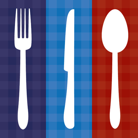 knife fork: Cutlery Icons Fork Knife Spoon Illustration