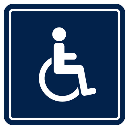 Gehandicapte Handicap Icon Stock Illustratie
