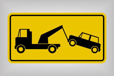 Tow Away No Parking Sign