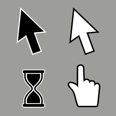 cursor: Cursor Icons Illustration