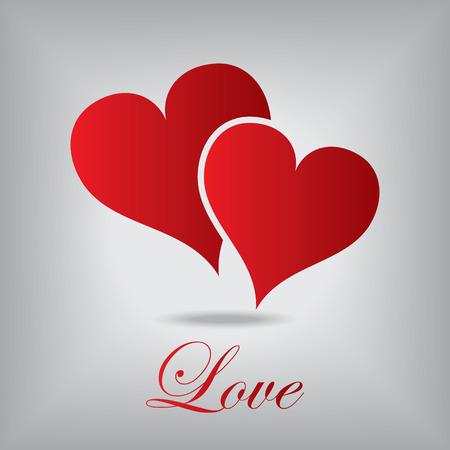 Love Hearts  Vektorgrafik