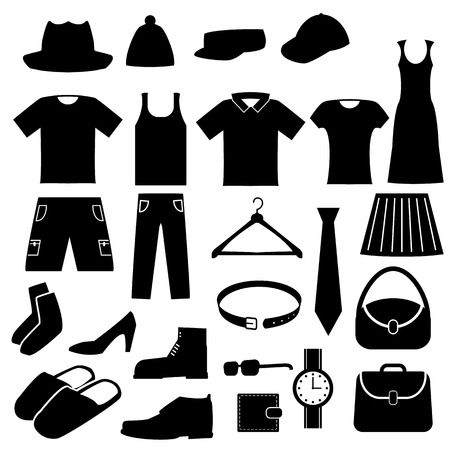 Clothes Icons Set