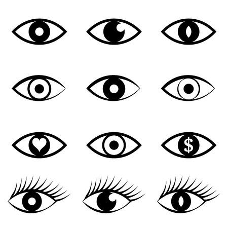 Eye Icons Set