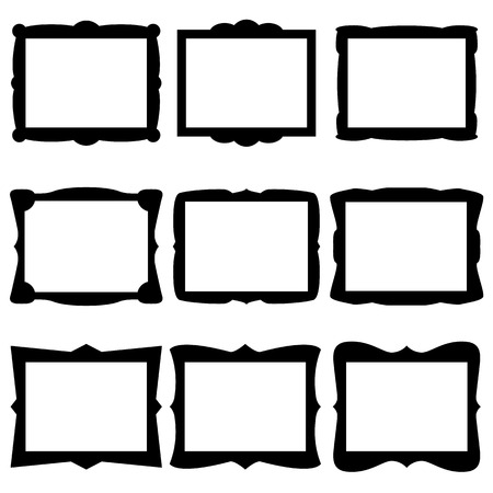 vintage photo frame: Frame Icons
