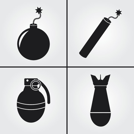 detonating: Bomb Icons