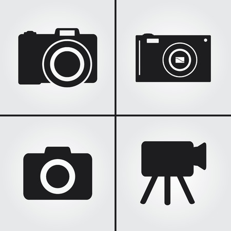 journalistic: Camera Icons
