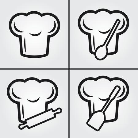 kitchener: Chef Hat Icons