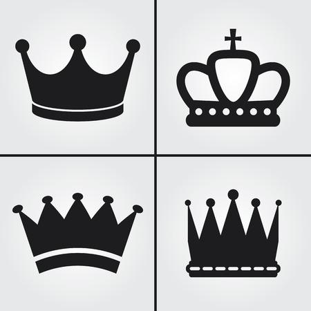 corona rey: Corona Iconos
