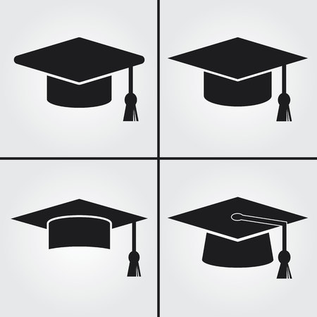 sign board: Graduation Cap Icon
