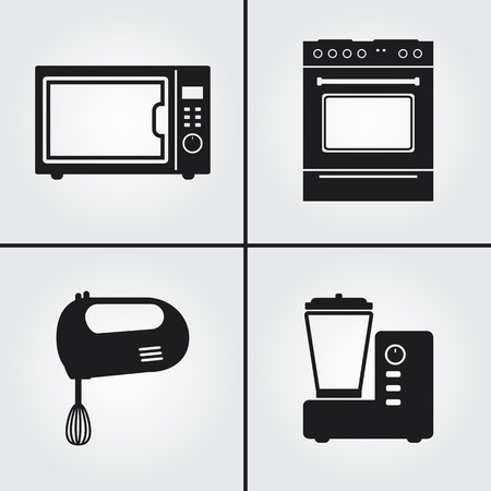 kitchen appliances: Kitchen Appliances Icon