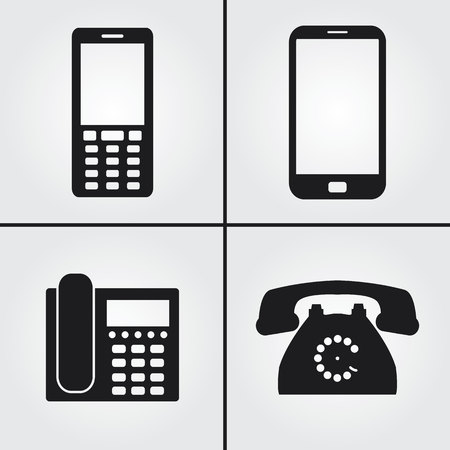 answering phone: Phone Icons