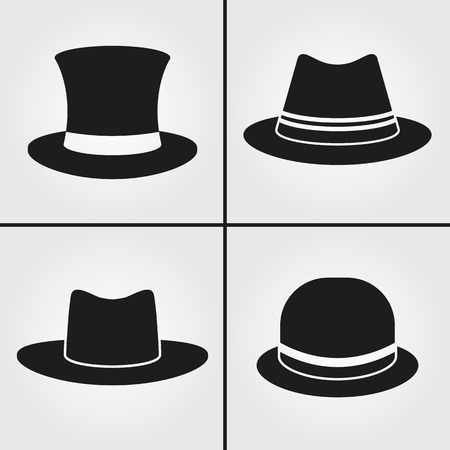 stovepipe hat: Hat Icons
