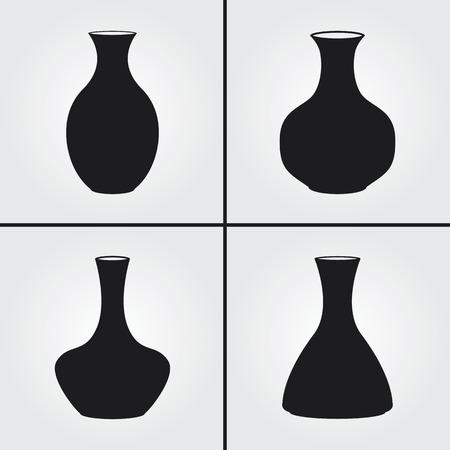 chinaware: Vase Icons