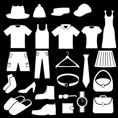 tunic: Clothes Icons Set