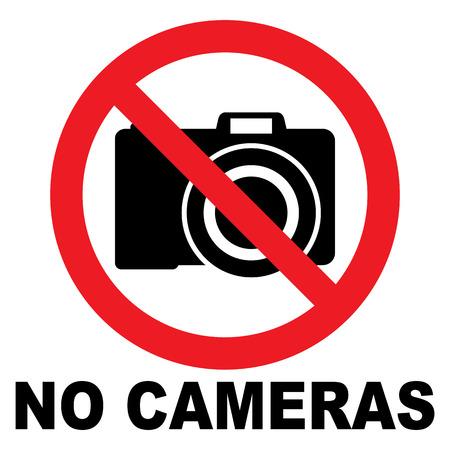 use regulations: No Camera Sign