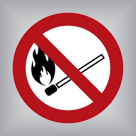 forewarn: No Fire Sign