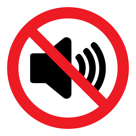 loudly: No Sound Sign