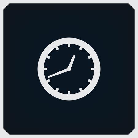 arrow circles: Clock Icon