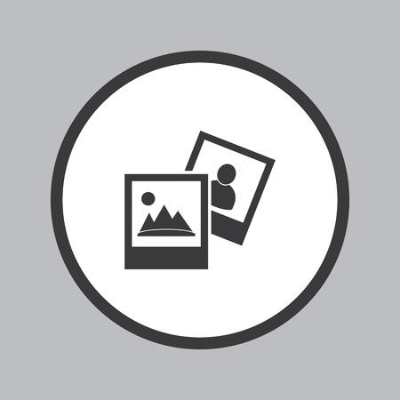 Galerie de photos Icône