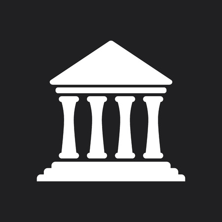 classic classical: Bank University Museum Icon