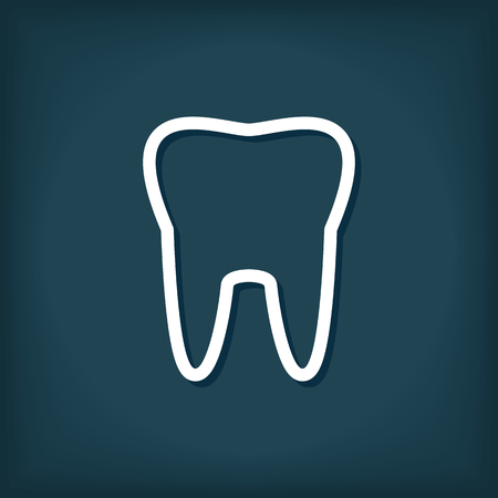 Tooth Icon 向量圖像