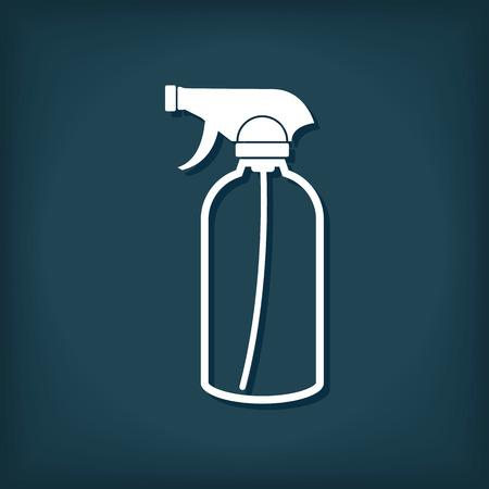 Spray Bottle Icon, Sprayer Vector Symbol 向量圖像
