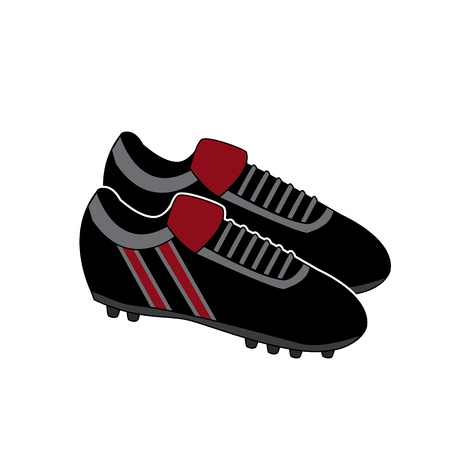 Football Boots Soccer Shoes Illustration Vector 向量圖像